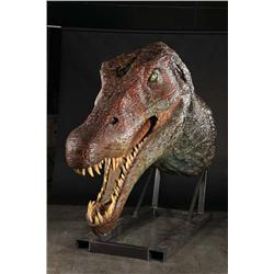 Screen-used full-scale Spinosaur head from Jurassic Park III