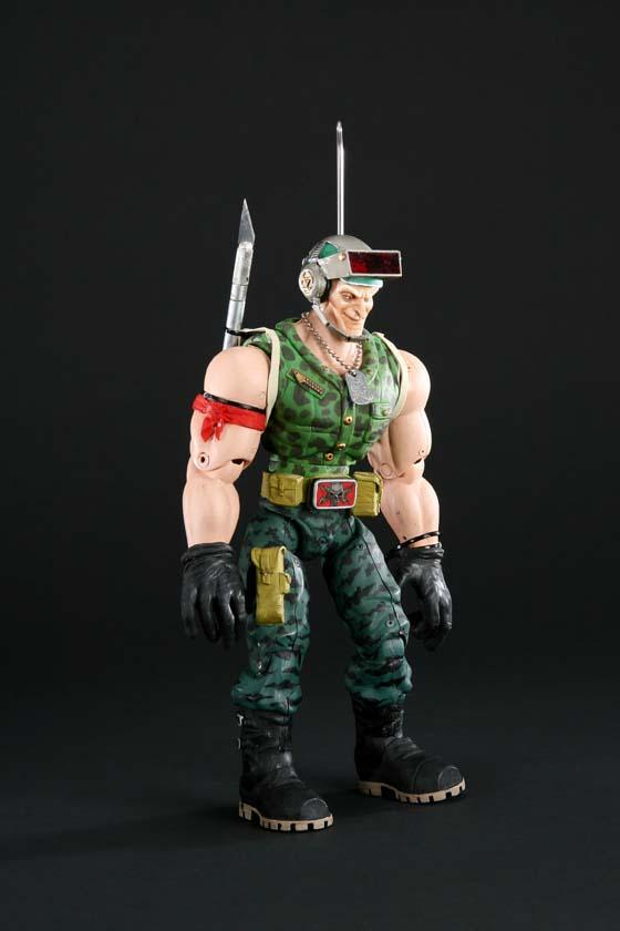 Small Soldiers Link Static Brick bazooka, link static and