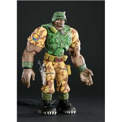 "Screen-used ""Butch Meathook"" Commando Elite animatronic puppet from Small Soldiers"