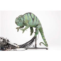 "Screen-used Budweiser ""Frank"" and ""Louie"" animatronic chameleons from the television commercials"