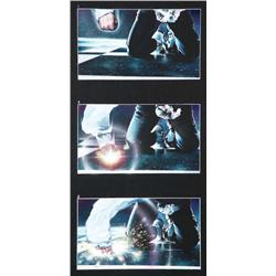 Set of storyboard art from Michael Jackson's Ghosts
