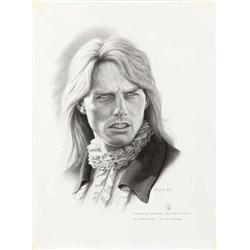 """Pair of concept artwork portraits of Tom Cruise as """"Lestat"""" from Interview with the Vampire"""
