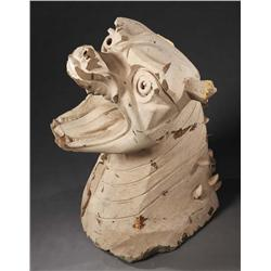 Full-size Terror Dog bust from Ghostbusters