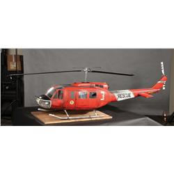 Rescue helicopter miniature from Cliffhanger