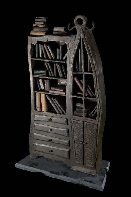 image 1 jacks bedroom bookcase from the nightmare before christmas - Nightmare Before Christmas Furniture