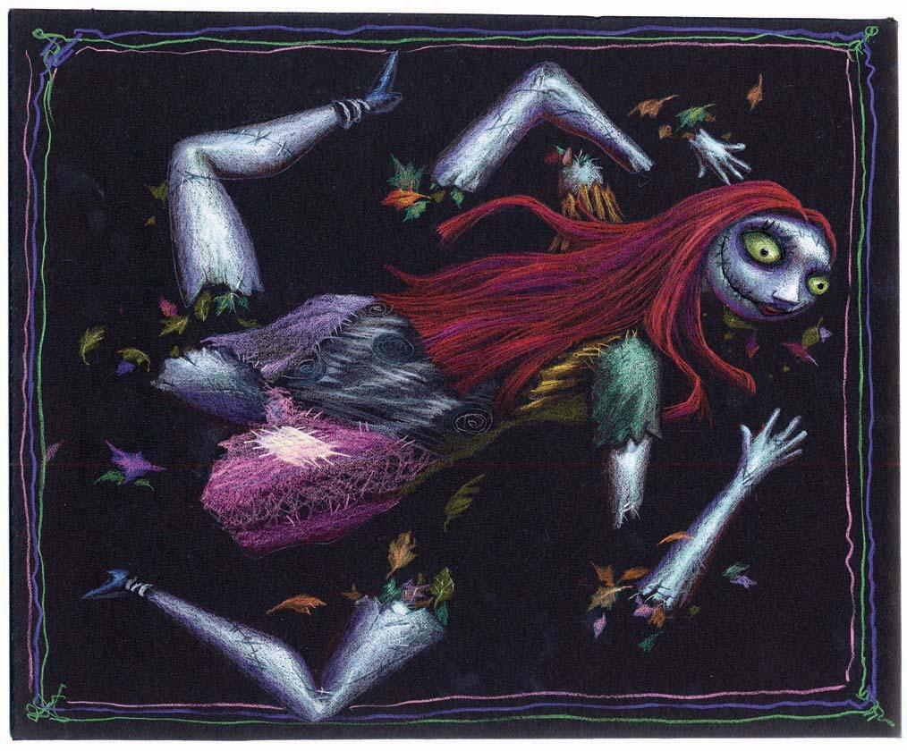 Dismembered Sally Concept Artwork From The Nightmare Before Christmas Loading Zoom