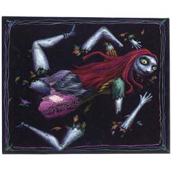 Dismembered Sally concept artwork from The Nightmare Before Christmas