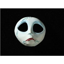 "Screen-used ""Sally"" puppet face and storyboard artwork from The Nightmare Before Christmas"