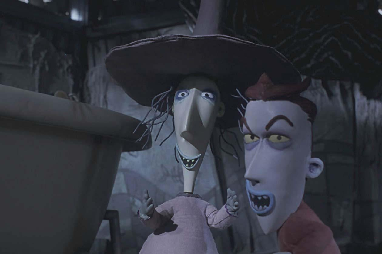 Screen-used Shock puppet from The Nightmare Before Christmas