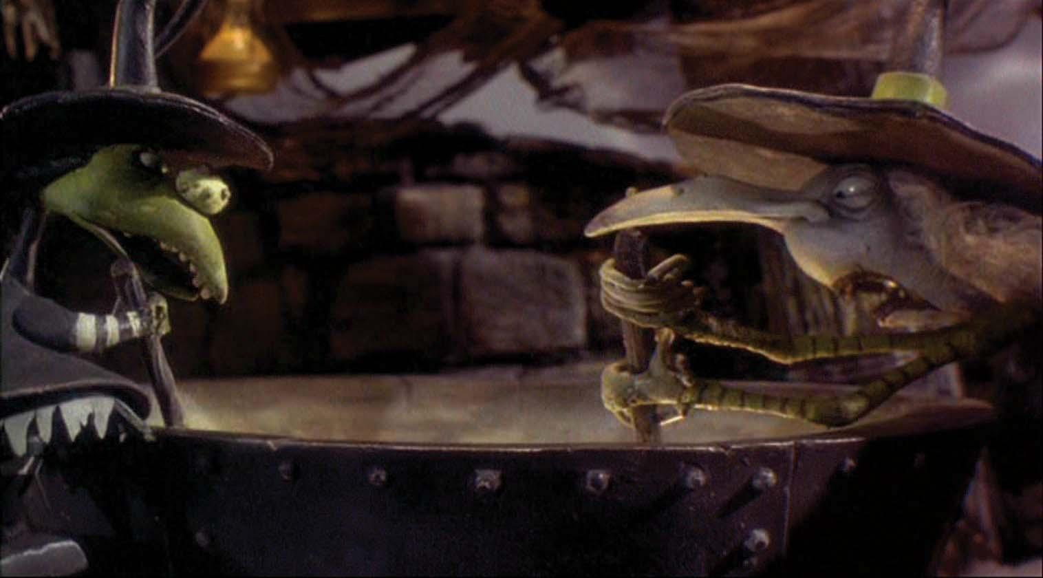 Witches\' cauldron from The Nightmare Before Christmas