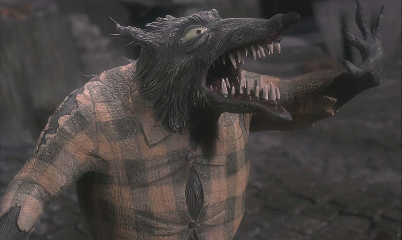 Werewolf puppet from The Nightmare Before Christmas