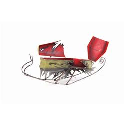 "Original ""Santa Jack"" screen-used miniature sleigh and trash can from The Nightmare Before Christmas"