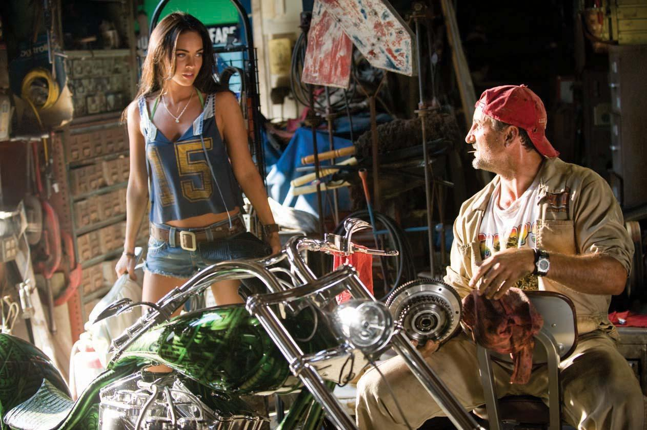 Image 4 Megan Foxs Hero Motorcycle Airbrushing Costume From Transformers Revenge Of The Fallen