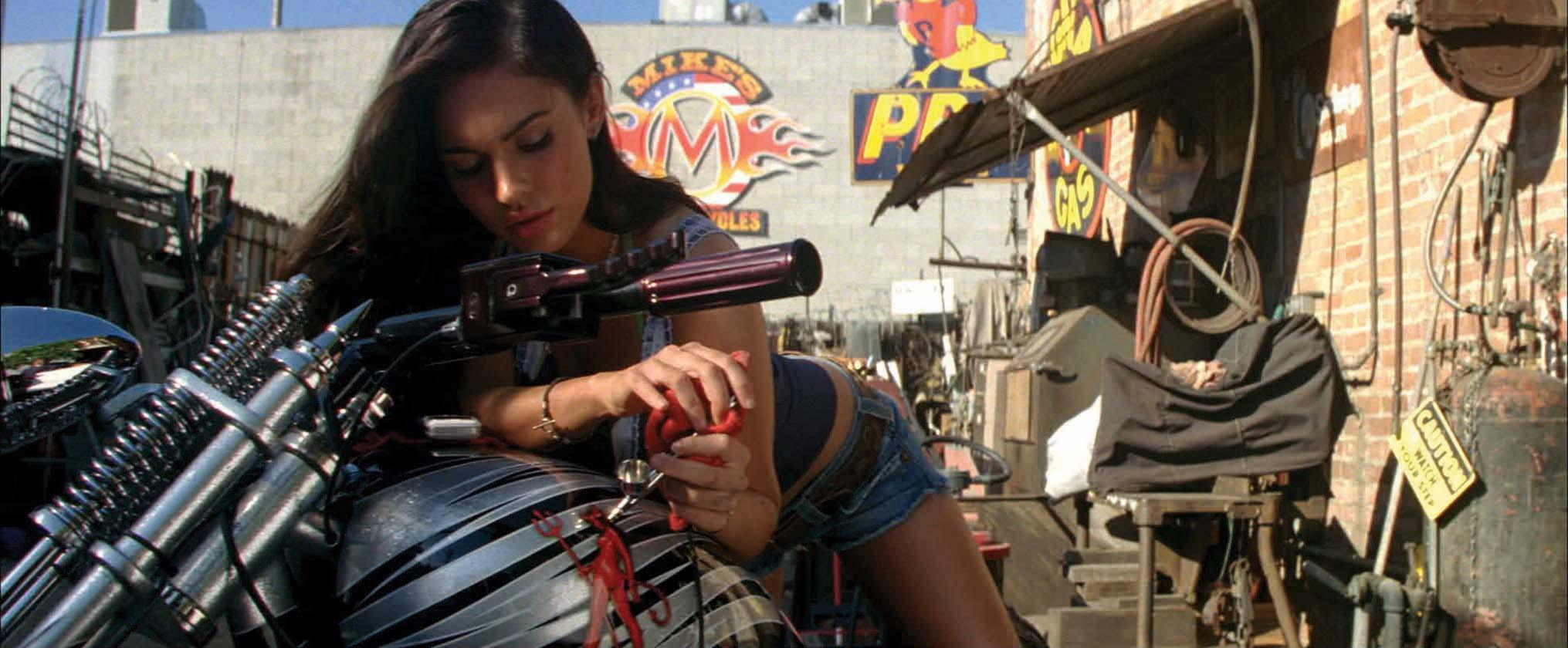 Image 3 Megan Fox Motorcycle Gas Tank From Transformers Revenge Of The Fallen