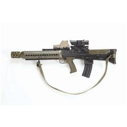 Rubber stunt L85A2 assault rifle from Transformers: Revenge of the Fallen