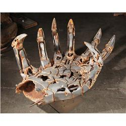 """Tomb of the Twelve"" hand that held the Matrix from Transformers: Revenge of the Fallen"