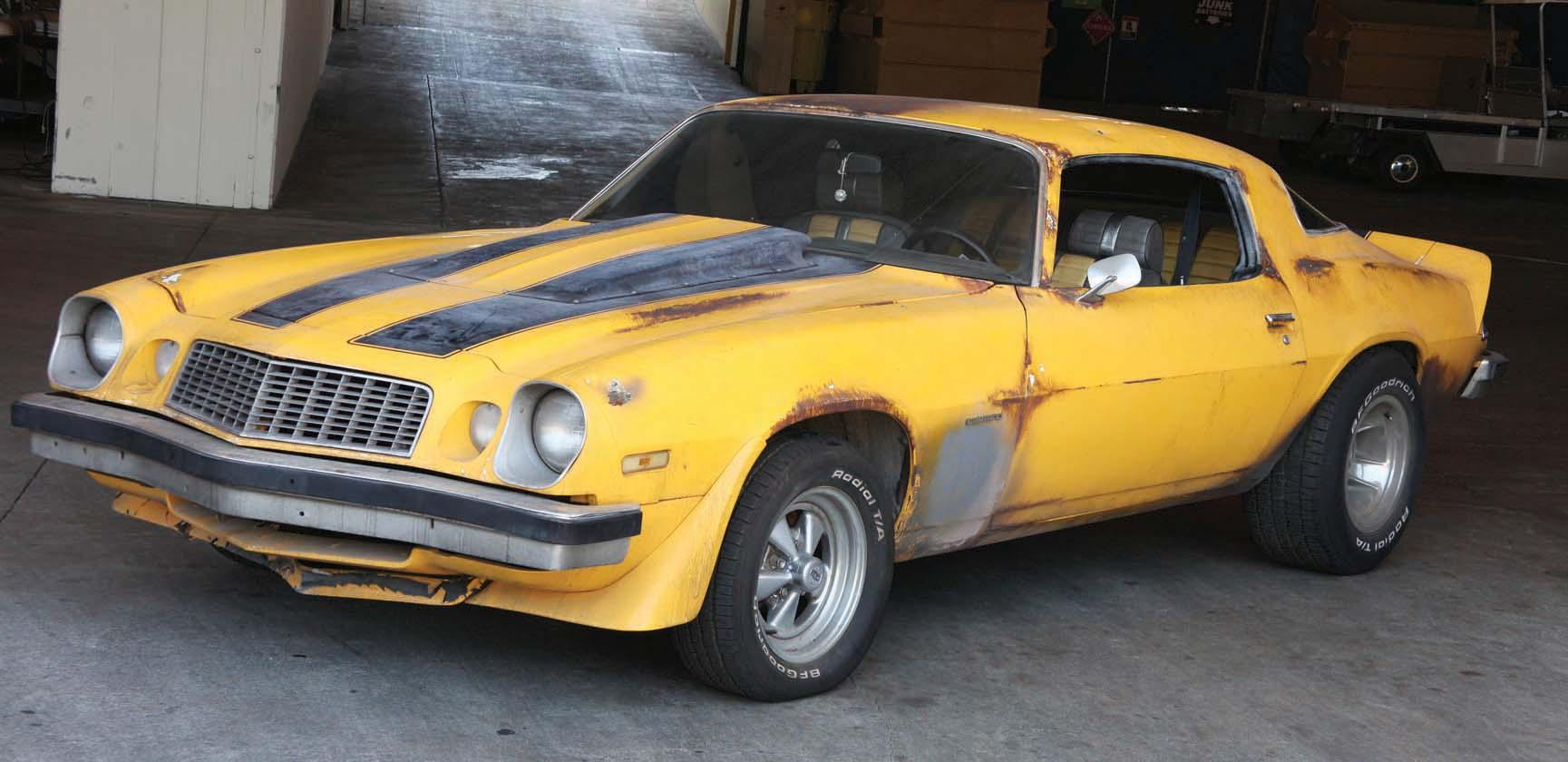 1977 Chevy Camaro Bumblebee Car From Transformers
