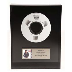 Michael Jackson Night Tracks male artist of the year award from 1988
