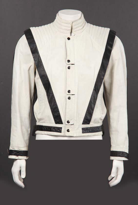 "Image 1 : Justin Timberlake white leather jacket from Gnarls Barkley ""Run"" video ..."