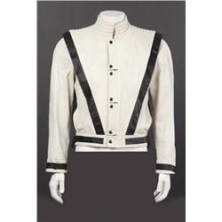 "Justin Timberlake white leather jacket from Gnarls Barkley ""Run"" video"