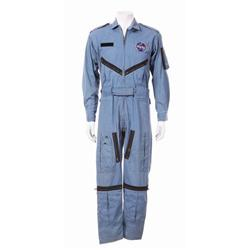 Astronaut Gus Grissom's worn Mercury flight suit