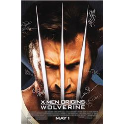 X-Men Origins: Wolverine signed one-sheet poster