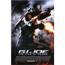 G.I. Joe: Rise of Cobra signed one-sheet poster