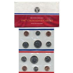 1987 US Coin Original Mint Set GEM Potential (COI-2387)