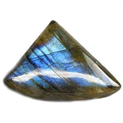 20.50ct  Fancy Cabochon Natural Multi Color Labradorite (GEM-10709)