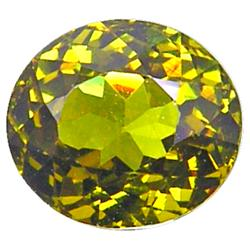 1.60ct Sparkling Natural Best Yellow Green Mali Garnet VVS (GEM-9972)