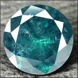 0.15ct. Dazzling Blue Diamond Round Cut (GMR-0148)