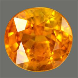 2.7mm Round Top Golden Yellow Sapphire FLAWLESS (GMR-0220)