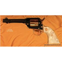 Colt Commemorative Frontier Scout SAA revolver,  Indiana Sesquicentennial (1816-1866), .22LR cal.,