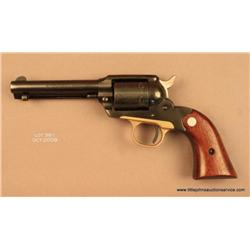 "RUGER Bearcat, #91-21726, 22 LR, 4"" barrel, blued  finish, smooth walnut medallion grips.  Gun is in"