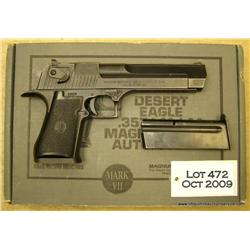 "Israel Military Industries Desert Eagle semi-auto  pistol, .41/.44 Magnum cal., 6"" barrel, military"