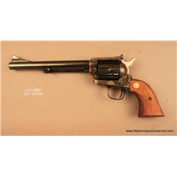 "Colt New Frontier SAA revolver, .44 Special cal.,  7-1/2"" barrel, blue and case hardened finish,  sm"