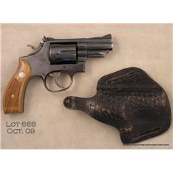 "SMITH & WESSON Model 19-3, # K952414, .357 Mag.,  2.5"" barrel, blued finish, adjustable sights,  che"