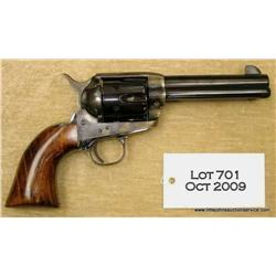 EMF New Dakota Model SAA revolver, 44-40 cal.,  4-3/4  barrel, blue and case hardened finish,  smoot