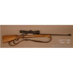"REMINGTON Model 30-S, # 26886, .257 Roberts, 24""  barrel, checkered walnut stock, mounted with a  Si"