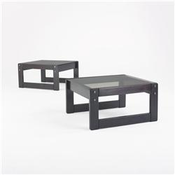 Percival Lafer coffee tables, pair