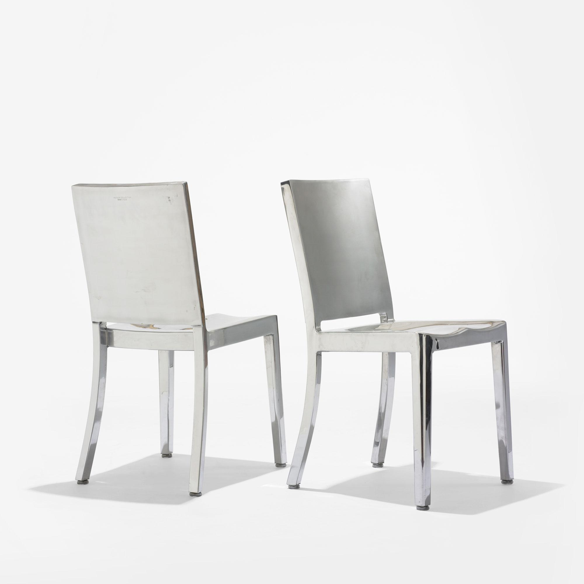 philippe starck hudson chairs pair. Black Bedroom Furniture Sets. Home Design Ideas