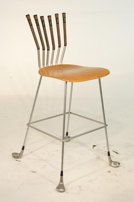Delightful Image 1 : Vintage 1950u0027s Style Golf Club Chair (made With Golf Clubs)