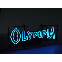 """Vintage """"Olympia Neon"""" Bar Sign"""