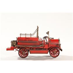 Vintage Tin London Fire Truck