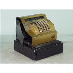 Vintage 1950's Mechanical Cash Register