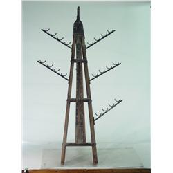 PLANET OF THE APES 2001 Screen Used Weapons Rack, Easel Style