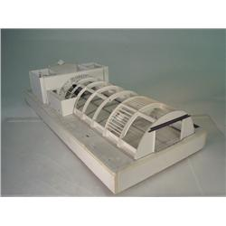 "TERMINATOR 3 Architectural Set Model ""Tunnel Blast Door"" 55"" Long"