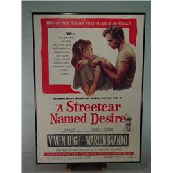 """A STREETCAR NAMED DESIRE"" Framed Movie Poster 20"" X 28"""