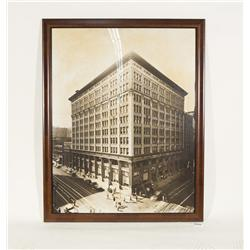 "Vintage Downtown Los Angeles Edison Building Picture 36"" X 45"""