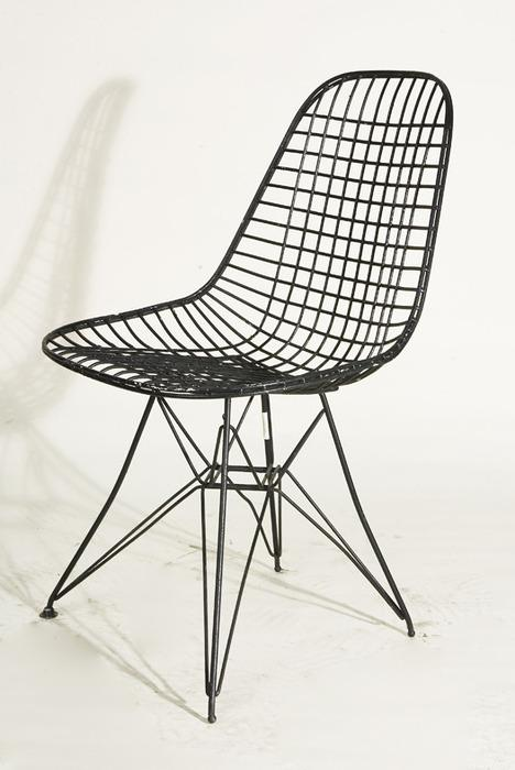 image 1 vintage mid century modern eiffel dining chair by knoll